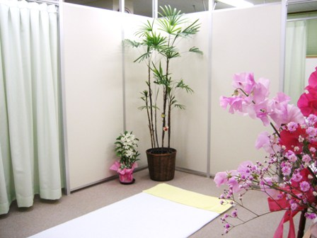 メイン施術室です。